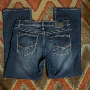 BKE jeans size 34 Jake bootcut dark wash